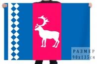 Флаг Тазовского района, Ямало-Ненецкий АО
