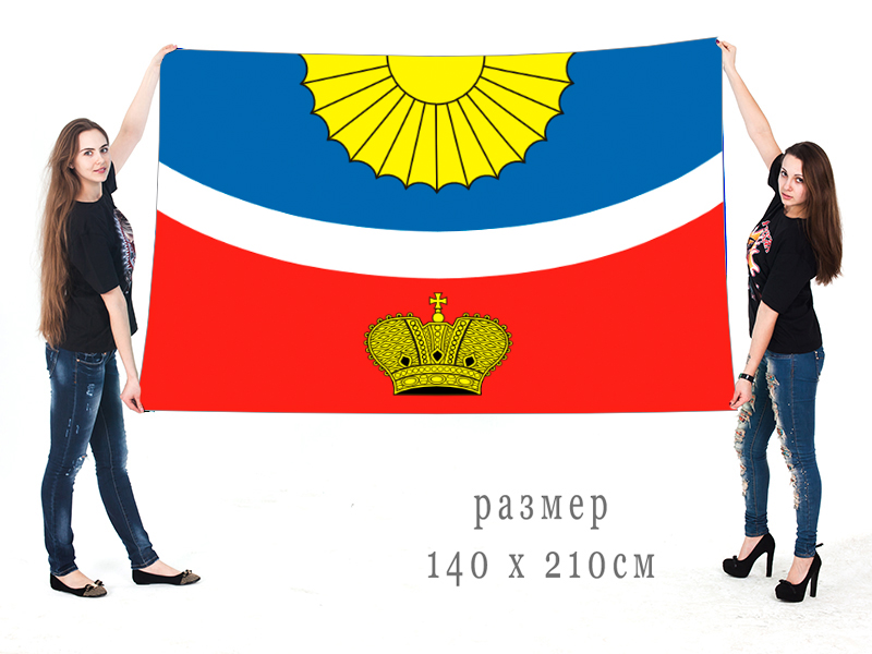 Большой флаг Тихвинского района