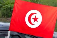 Флаг Туниса на машину