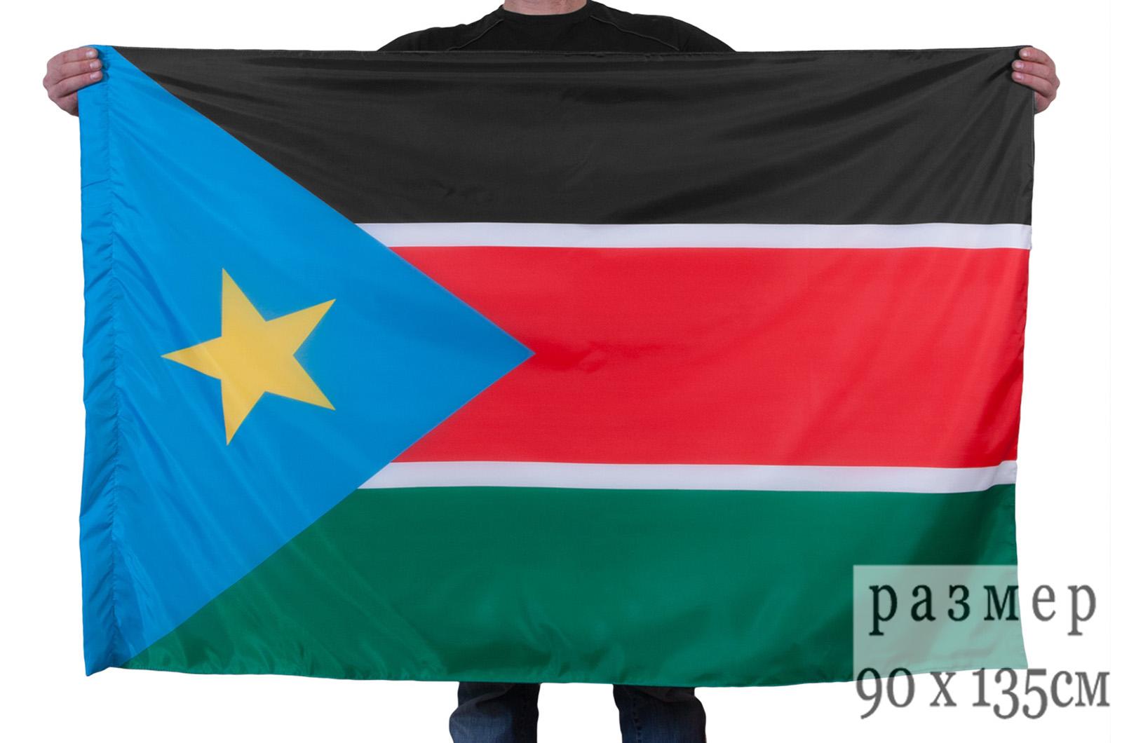Флаг Южного Судана. Купить флаг Южного Судана