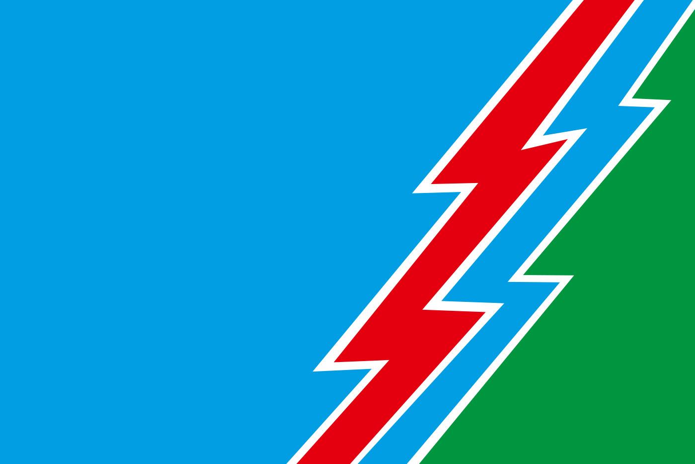 Флаг Усть-Илимска