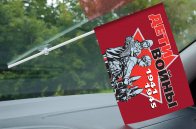 Флаг в машину «Дети войны» на память об участии в мероприятиях юбилея Победы