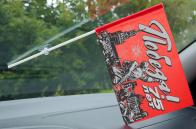 Флаг в машину с присоской к 75-летию Победы в ВОВ