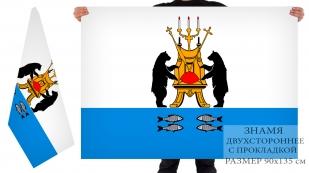 Двусторонний флаг Великого Новгорода