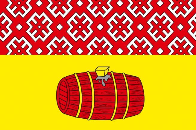 Флаг Вельского района