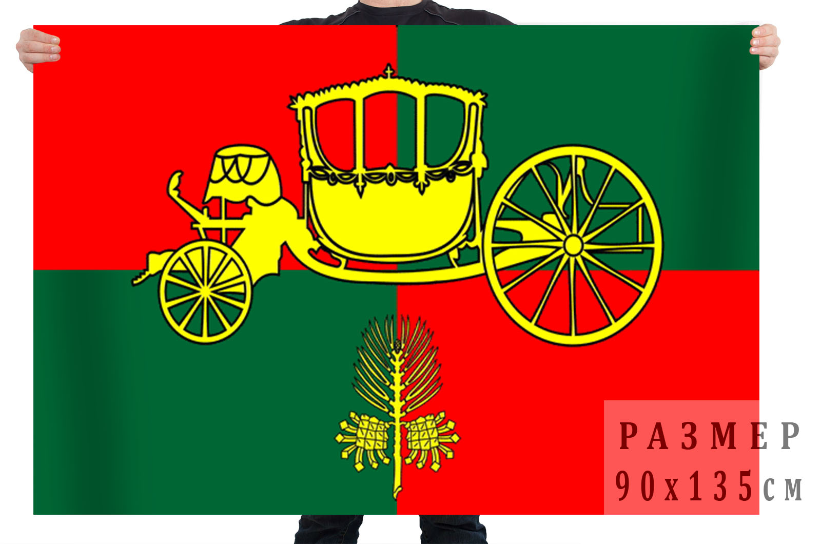 Флаг внутригородского муниципального образования муниципального округа Сосновая Поляна