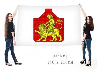 Большой флаг внутригородского муниципального образования муниципальный округ Сампсониевское