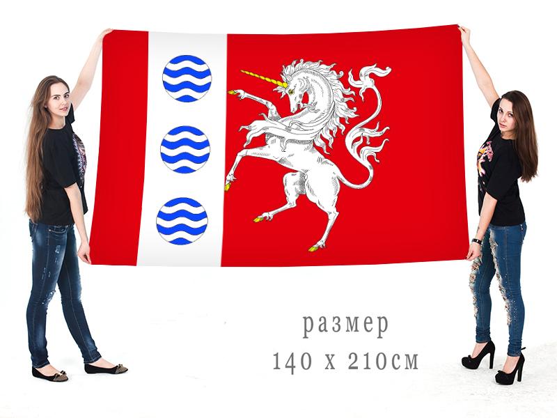 Большой флаг внутригородского муниципального образования муниципальный округ Шувалово-Озерки