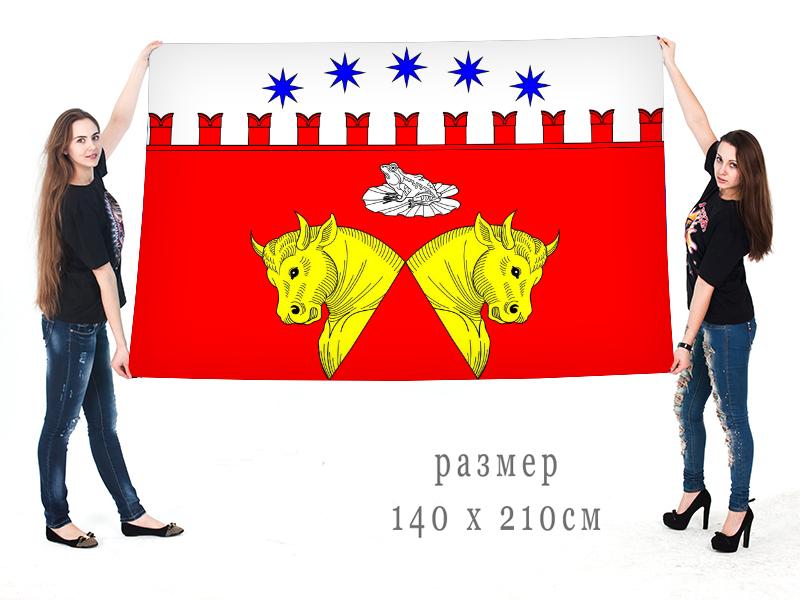 Большой флаг внутригородского муниципального образования муниципальный округ Звёздное