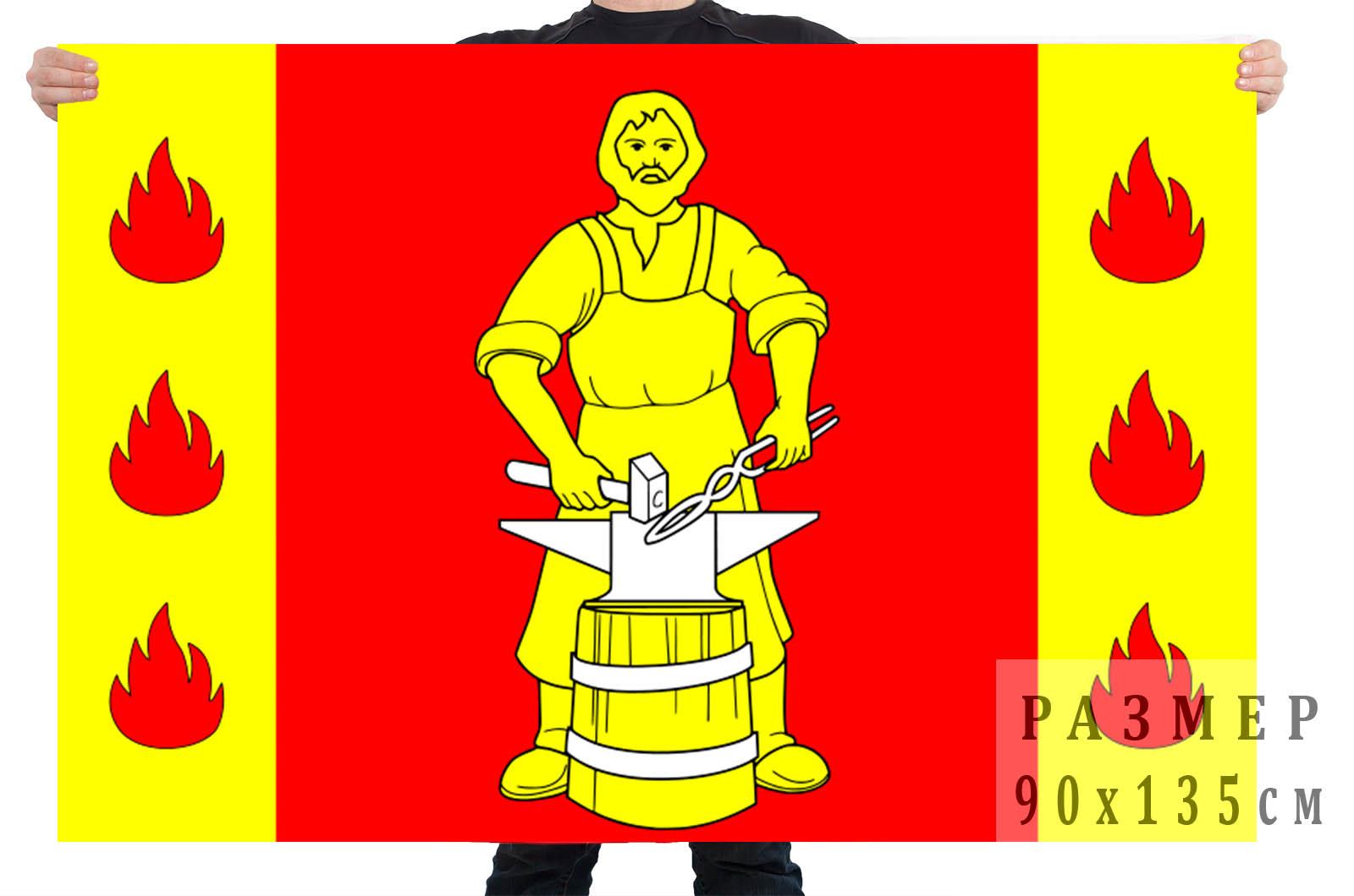 Флаг внутригородского муниципального образования посёлок Металлострой