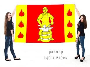 Большой флаг внутригородского муниципального образования посёлок Металлострой