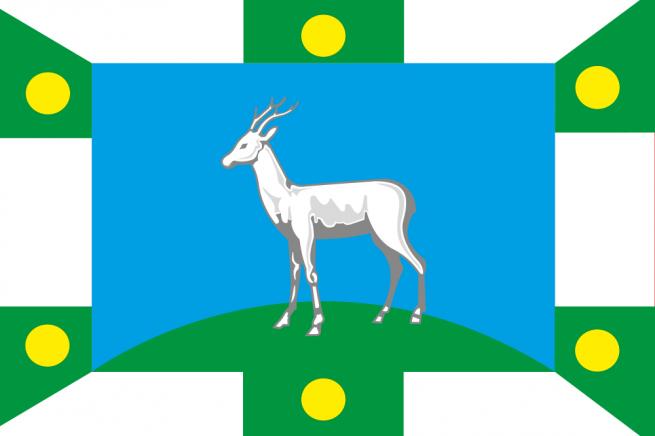 Флаг Волжского района