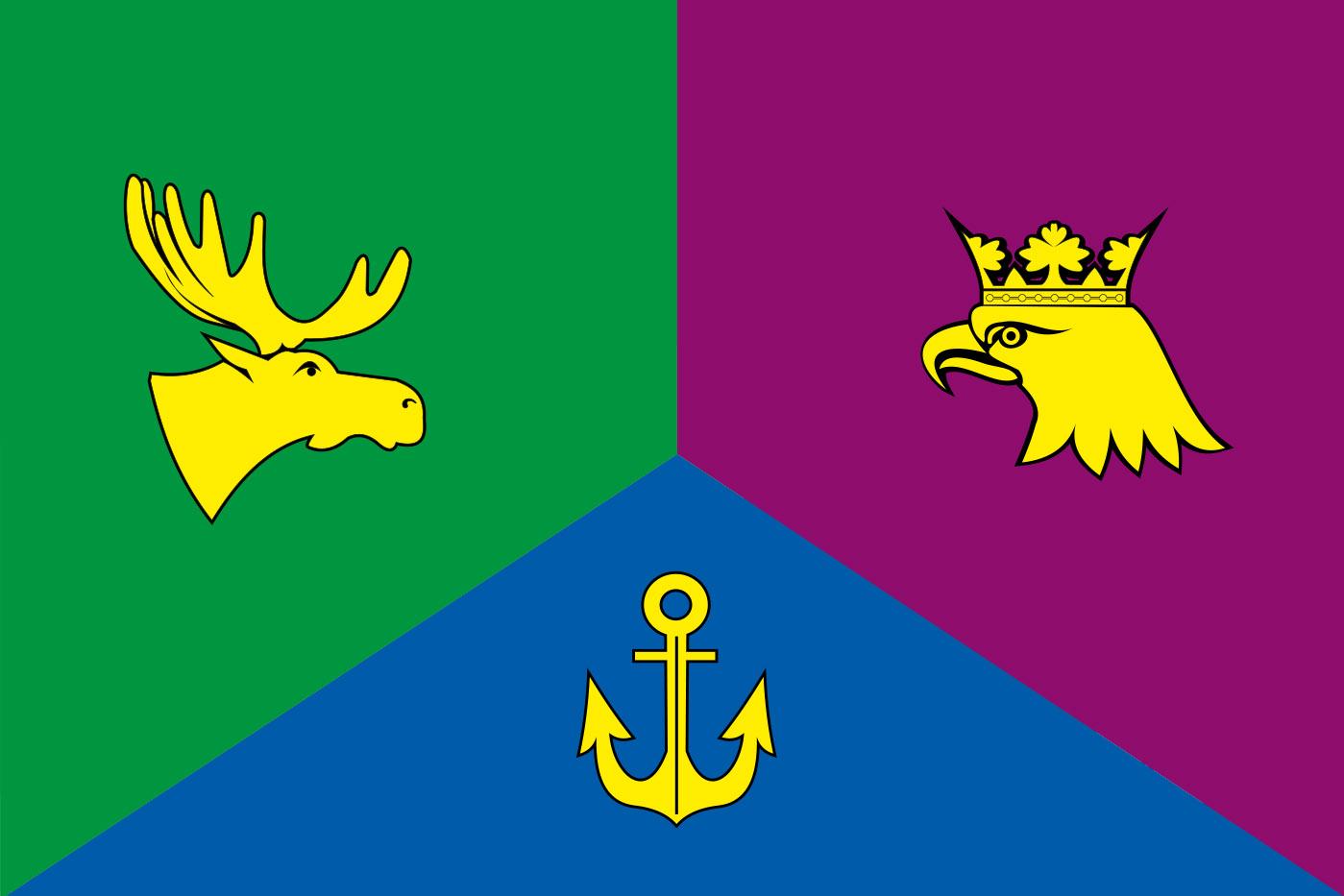 Флаг Восточного административного округа Москвы