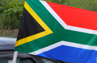 Флаг ЮАР на авто