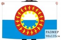 Флаг Заполярного района Ненецкого АО