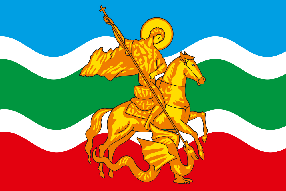 Флаг Жуковского района