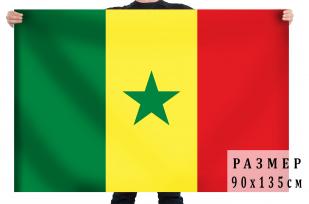 Флаг Сенегала 90х135 см