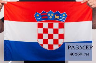 Флаг Хорватии 40х60 см