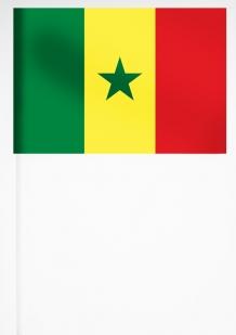 Флажок Сенегала 15х23 см