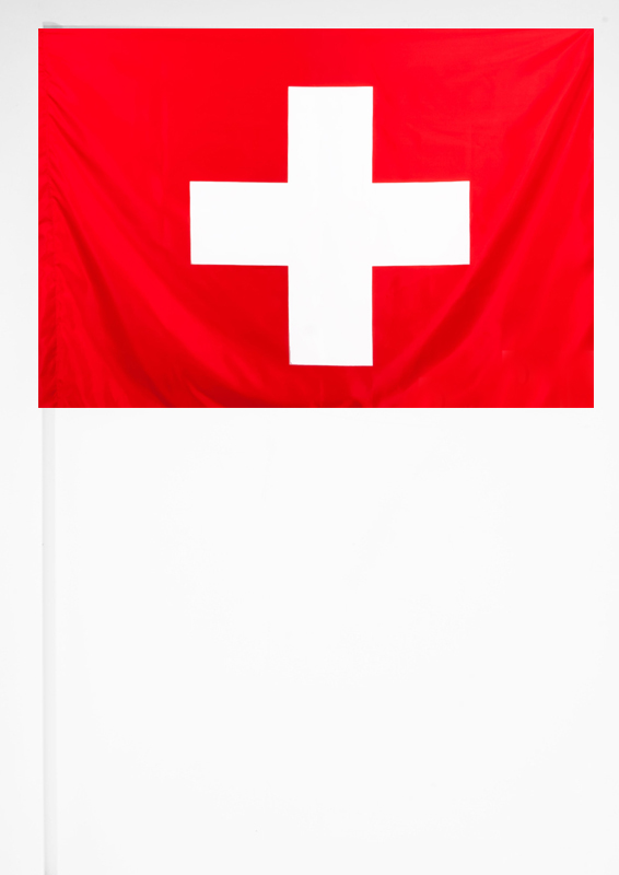 Флажок Швейцарии 15х23 см