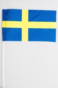 Флажок Щвеции 15х23 см