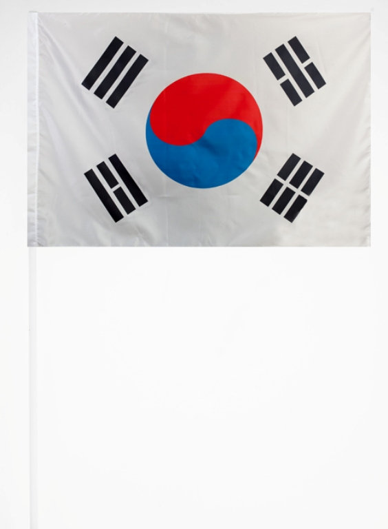 Флажок Республики Корея 15х23 см