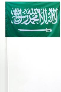 Флажок Саудовской Аравии 15х23 см