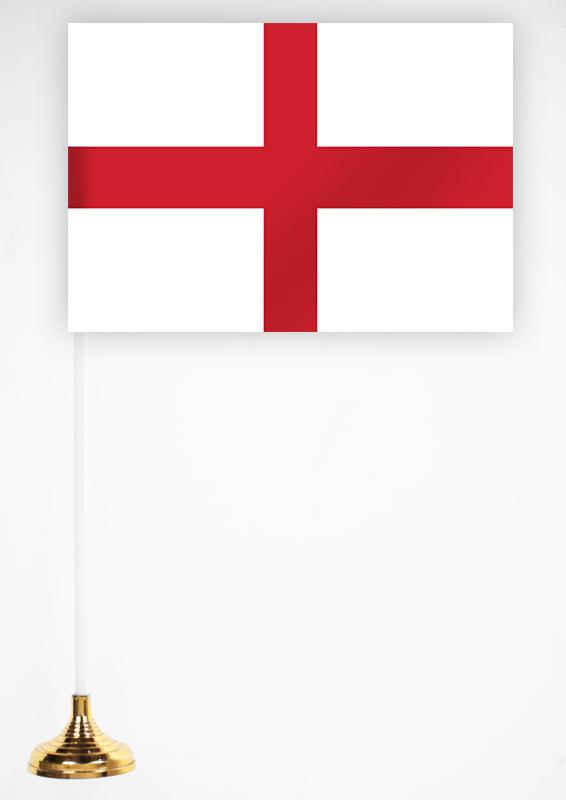 Флажок Англии 15х23 см