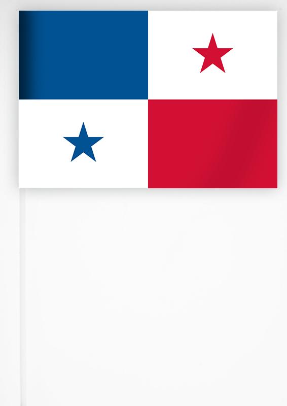 Флажок Панамы 15х23 см