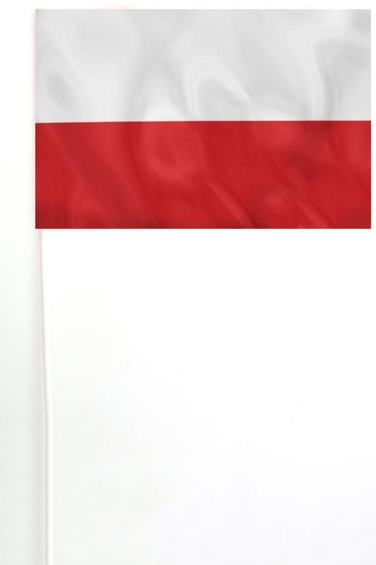 Флажок Польши 15х23 см