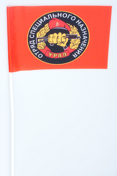 Флажок на палочке «12 отряд спецназа ВВ Урал»