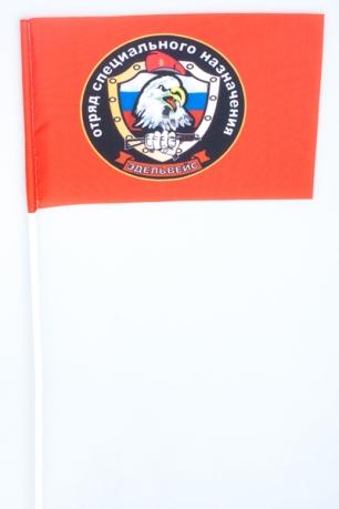 Флажок на палочке «17 отряд спецназа ВВ Эдельвейс»