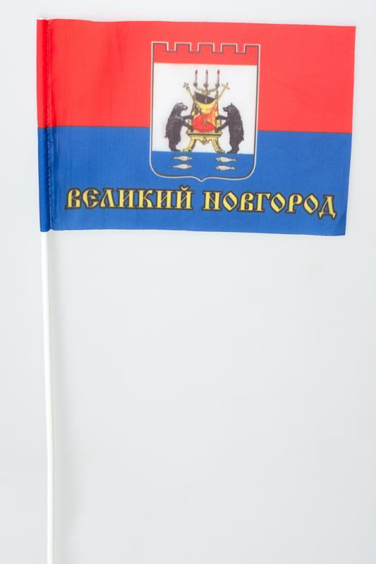 Флажок на палочке «Флаг города Великий Новгород»