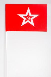 Военно-морской гюйс СССР на палочке