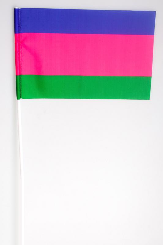 Флажок на палочке «Старый флаг Кубанского казачьего войска»