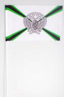 Флажок на палочке «Железнодорожные войска РФ»