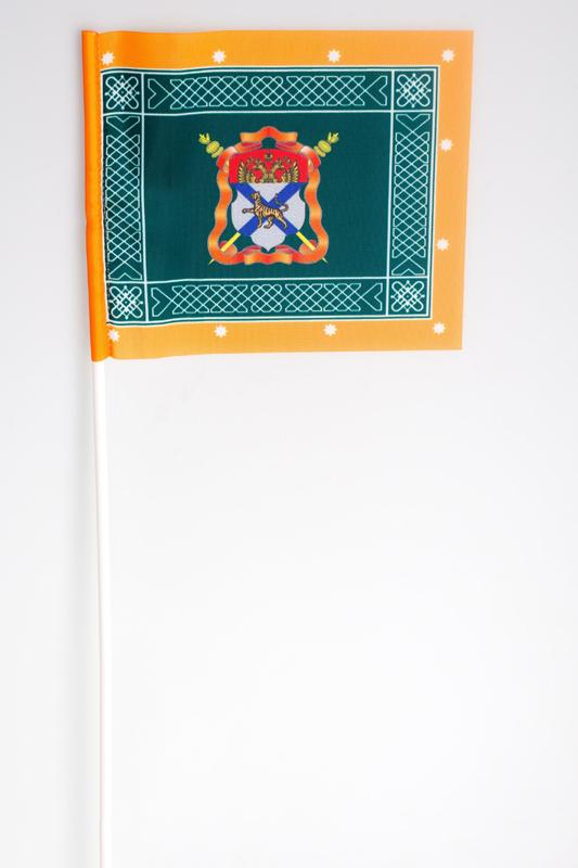 Флажок на палочке «Знамя Уссурийского казачьего войска»