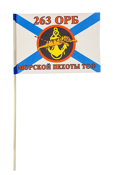 Флажок 263-го отдельного разведывательного батальона МП ТОФ