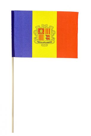 Флажок Андорры