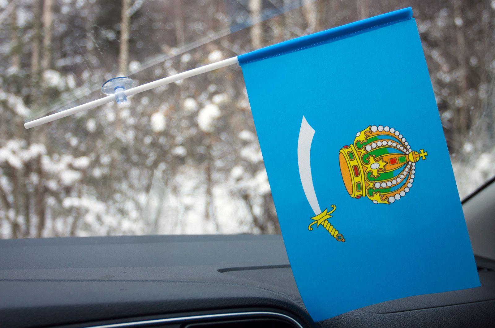 Флажок Астраханской области в машину