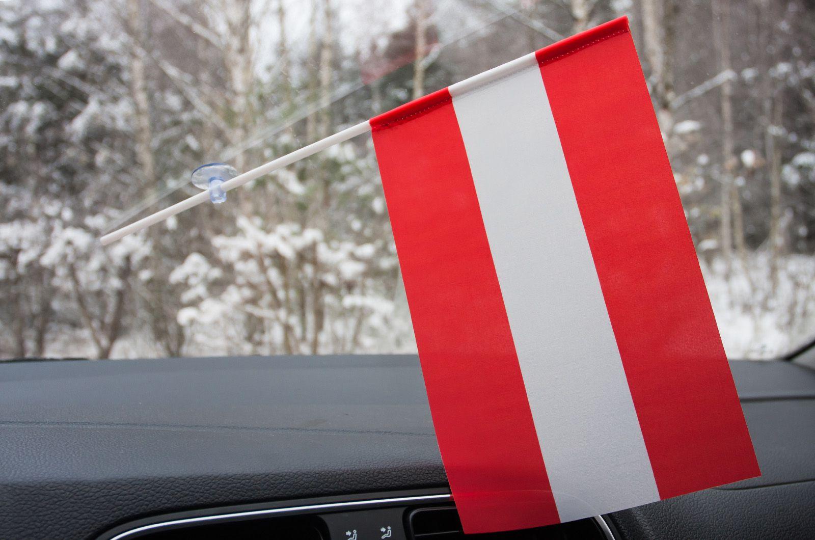Флажок Австрии в машину