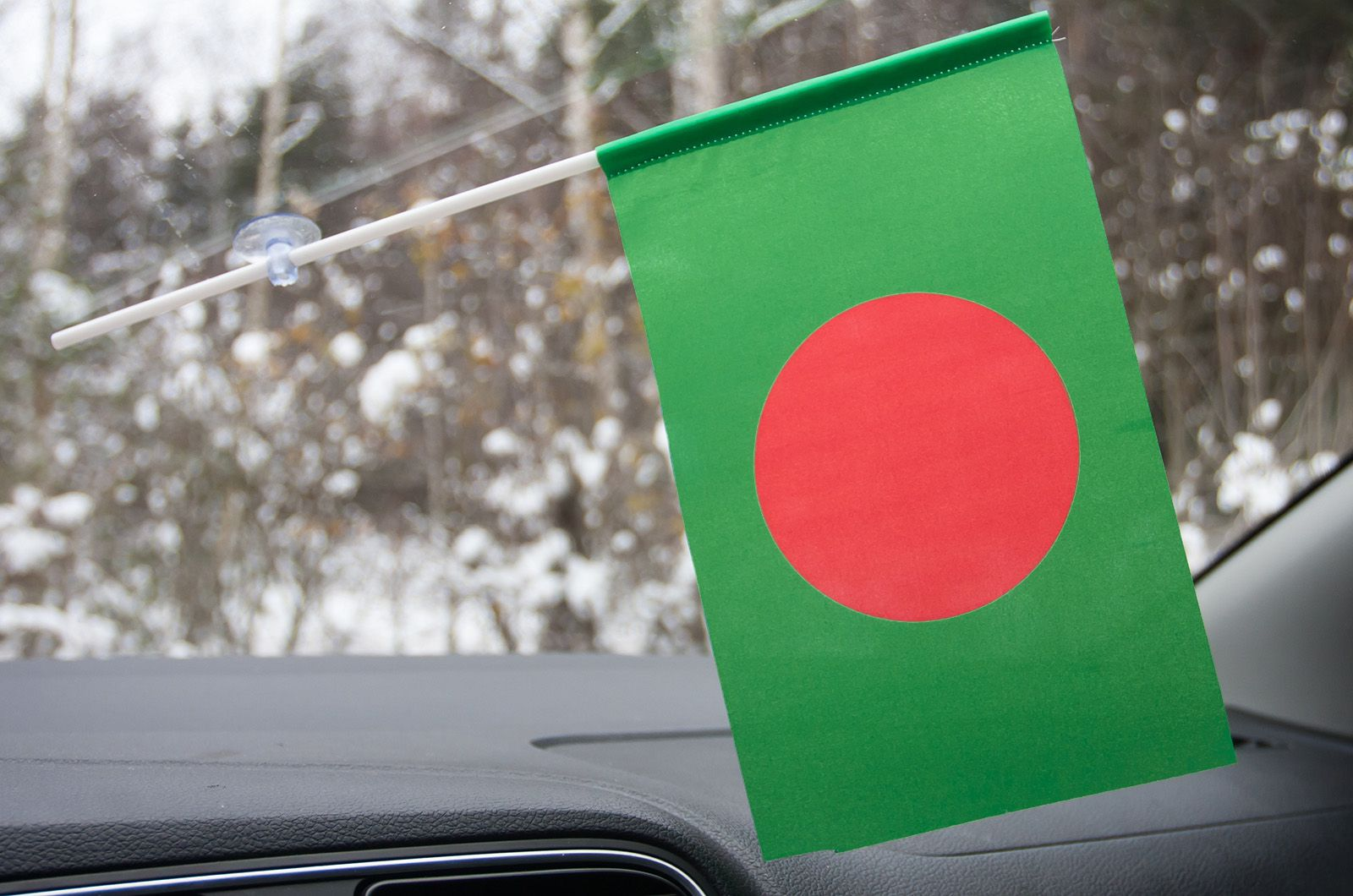 Флажок Бангладеша на присоске