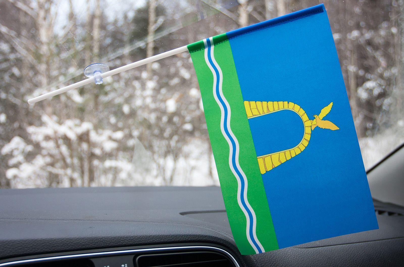 Флажок Батайска в машину
