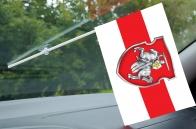 Флажок Беларуси с присоской