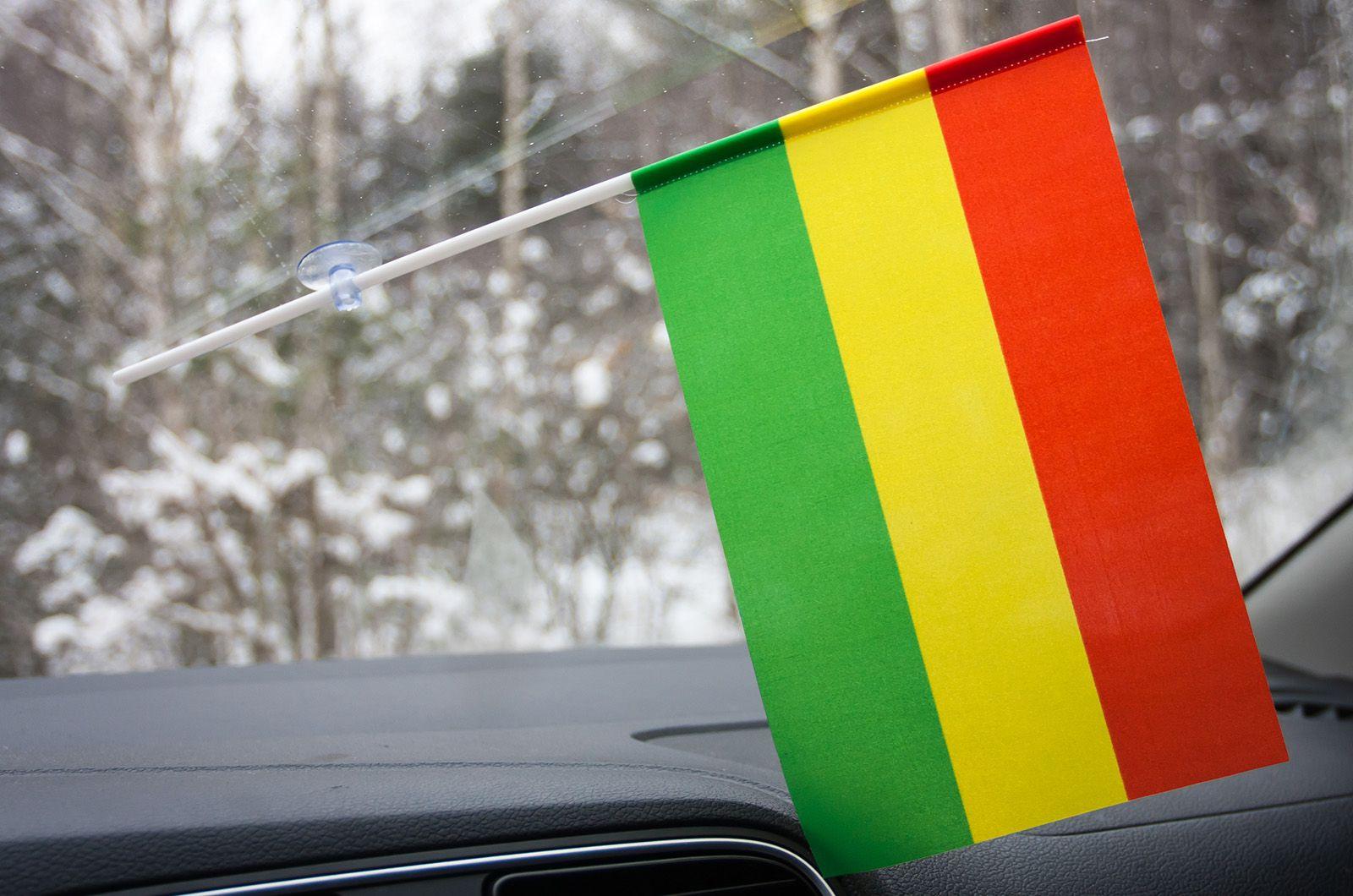 Флажок Боливии с присоской