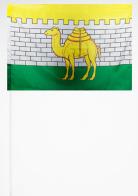 Флажок Челябинска на палочке