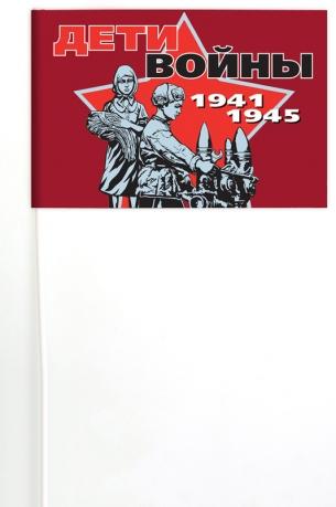 Флажок для демонстраций к юбилею Победы «Дети войны»