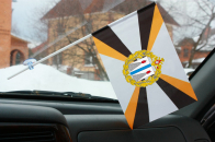 Флажок ДВО ВС в машину