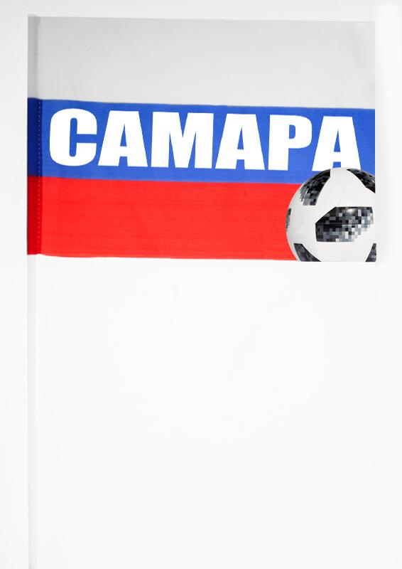 "Флажок фаната футбола ""Самара"""