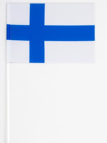 Флажок Финляндии на палочке по акции